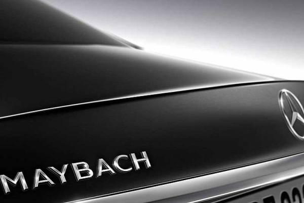 Az első pillantás az új Maybachba