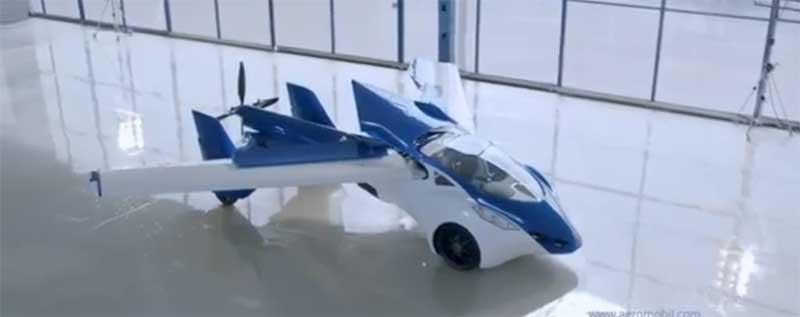 Csak nyolc litert fogyaszt a repülő autó