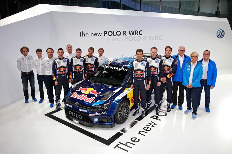 Új technika, új dizájn: bemutatkozott a Polo R WRC második nemzedéke