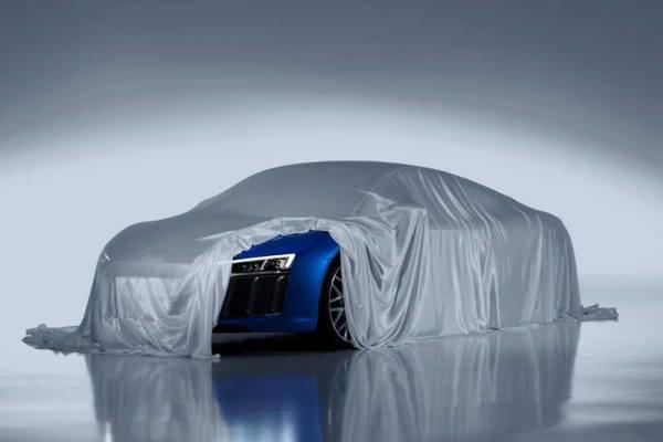 Az Audi bemutatja az új R8 lézeres távolsági fényszóróját