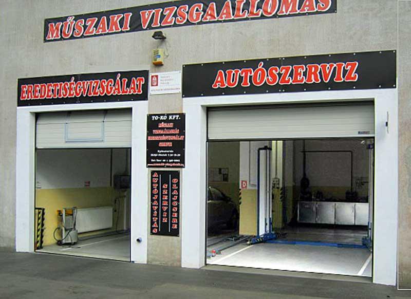 Eredetvizsgálat, műszaki vizsga és autószerviz – To-Ko Kft., Csepel
