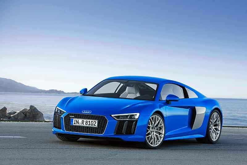 Az Audi bemutatja új R8 modelljét