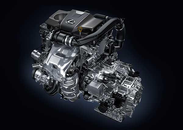 Lexus RX 200t autó motorja turbómotoros hajtáslánccal