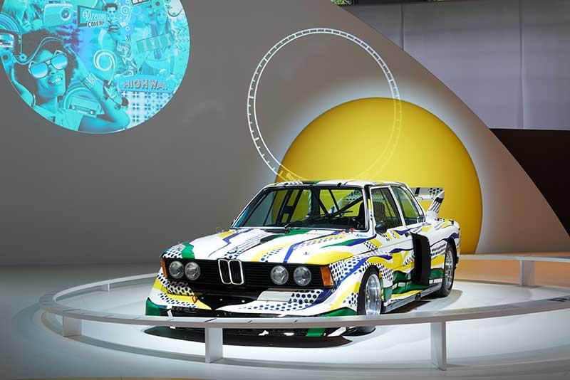 BMW Art Car a versenyautó művészete
