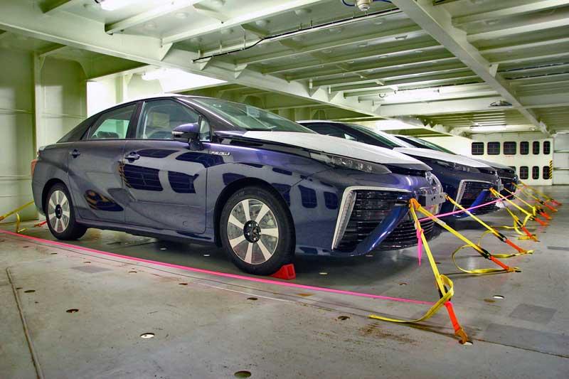 A Toyota Mirai, a jövő autója megérkezett Európába