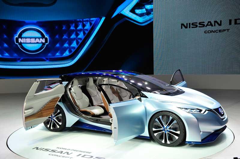 Jövőbemutató IDS koncepció a Nissantól