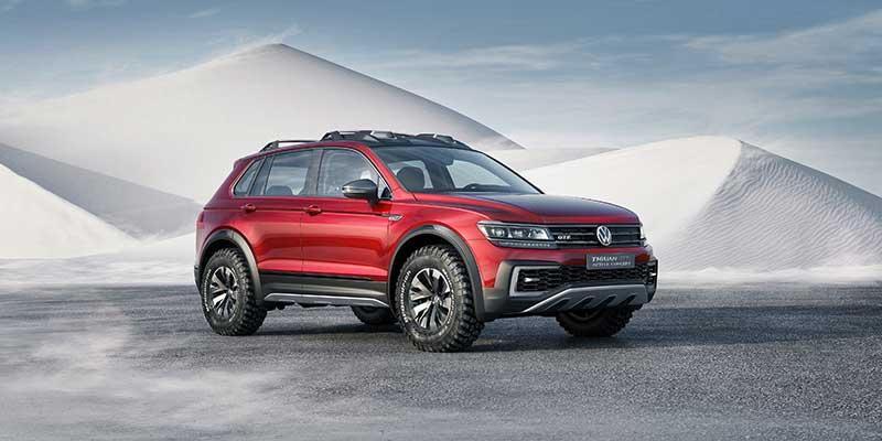 Volkswagen Tiguan GTE Active Concept bemutató