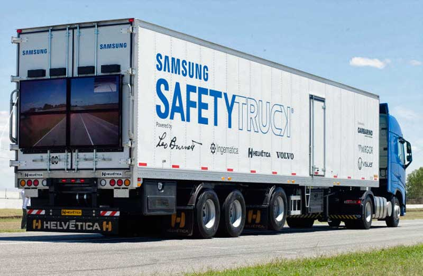 Megmutatja a Samsung kamion, amit nem láthatunk