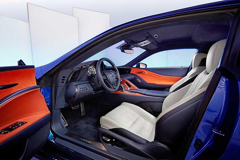 A Lexus LC 500H nemzetközi bemutatója