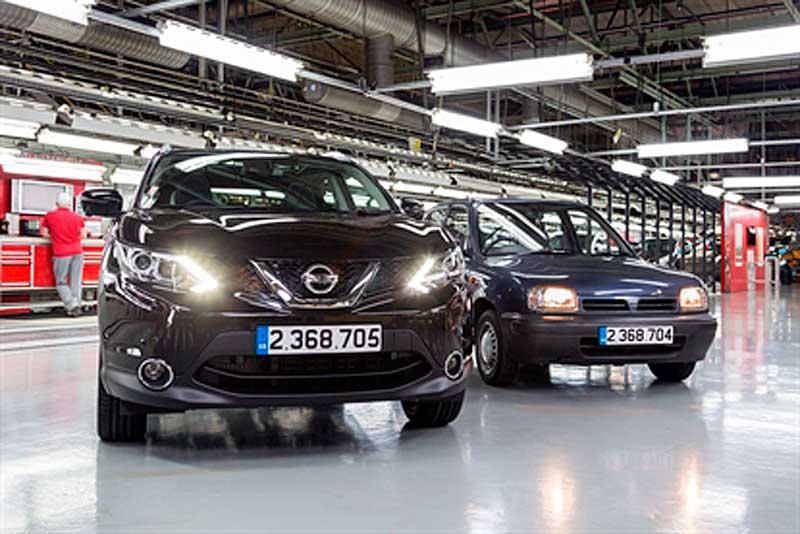 A Nissan Qashqai értékesítési rekordot döntött