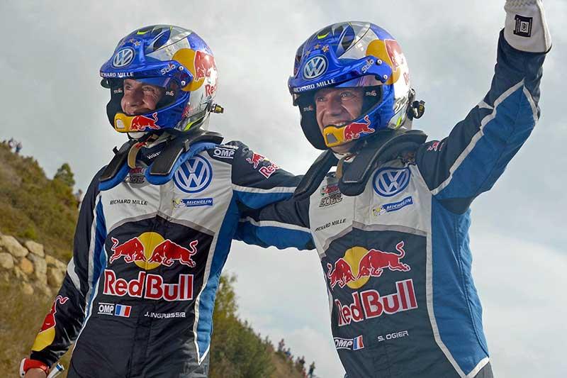 Ismét Ogier a FIA Rallye Világbajnok