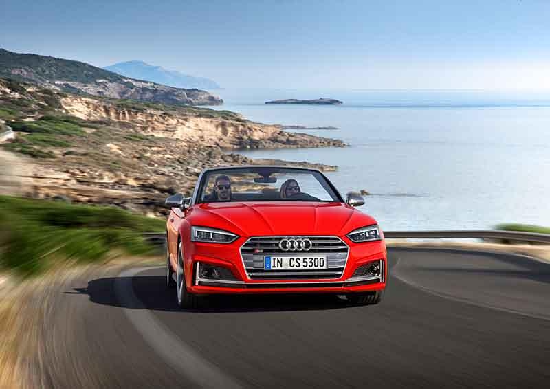 A korszerű Audi A5 és S5 Cabriolet