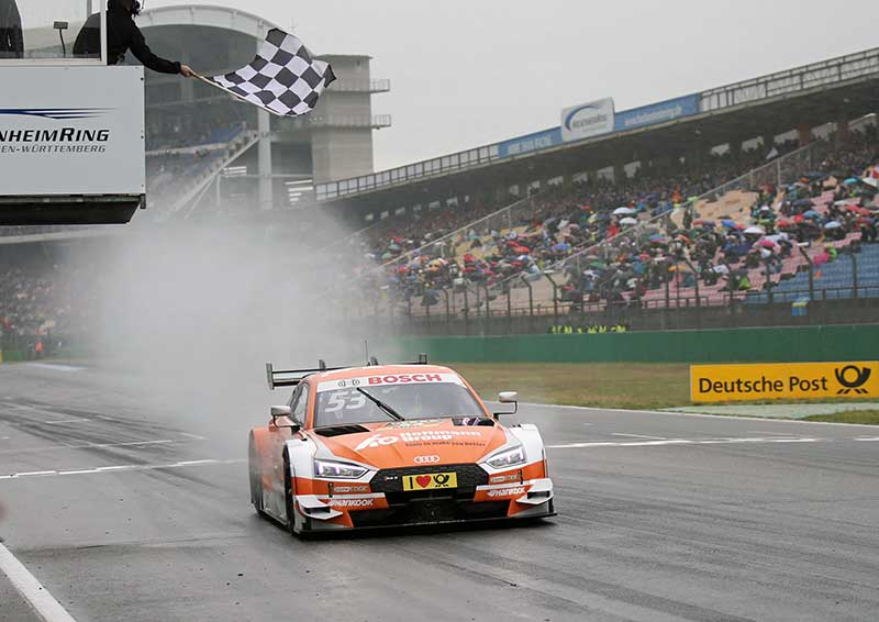 Audi RS 5 DTM a győztes versenygép