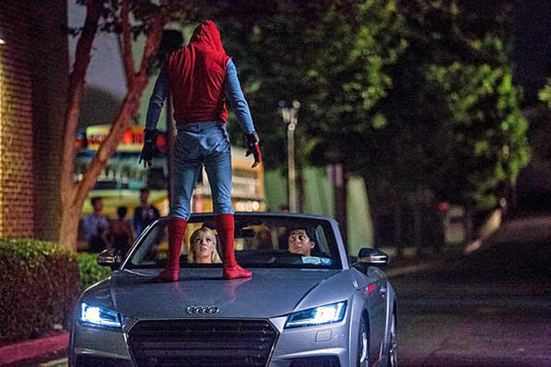 """A korszerű Audi A8 a """"Pókember: Hazatérés"""" című filmben mutatkozik be"""