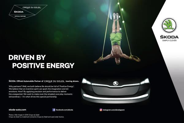 A Škoda és a Cirque du Soleil® hosszú távú együttműködésről állapodott meg