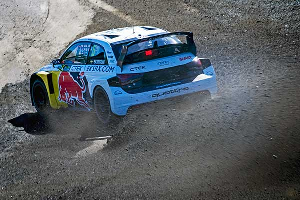 Komoly felzárkózás: másodszor dobogós az EKS Audi Sport az ez évi WRX szezonban