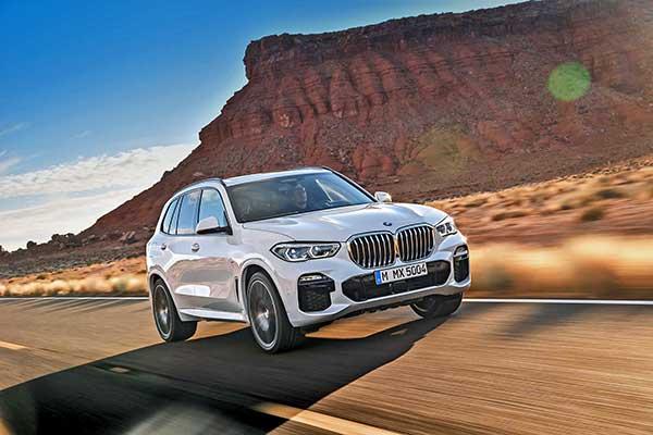 Megjött az első BMW X modell negyedik nemzedéke: a korszerű BMW X5