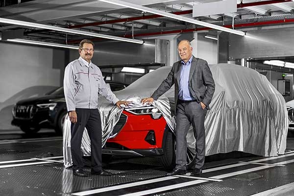 Kezdetét vette az Audi e-tron gyártása