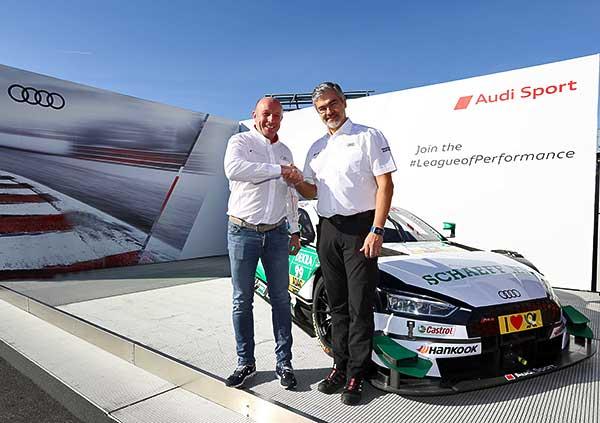 A WRT az Audi ügyfélcsapataként indul a DTM sorozatban