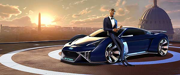 Az Audi első alkalommal tervez koncepcióautót egy animációs filmhez