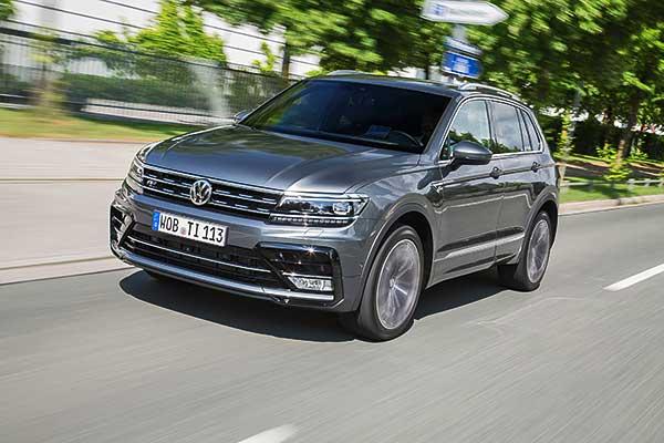 A Volkswagen az ötmilliomodik Tiguan gyártását ünnepli