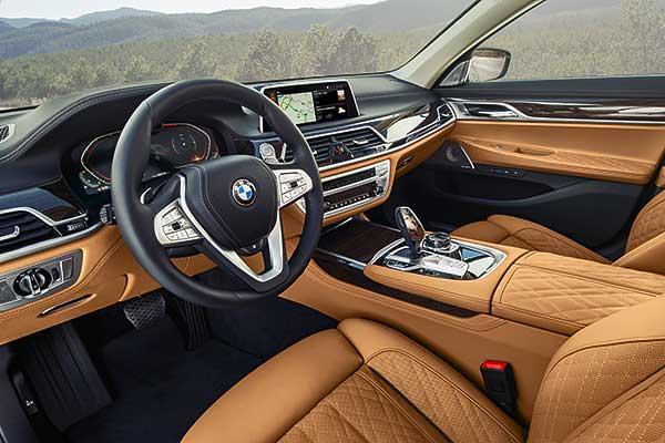 A modern BMW 7-es széria