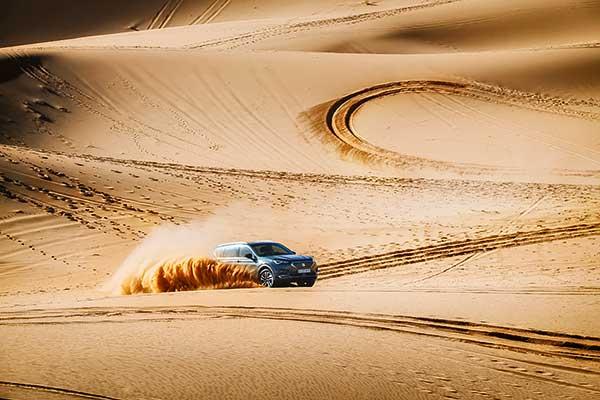 Seat Tarraco 4Drive tesztvezetés a marokkói sivatagban