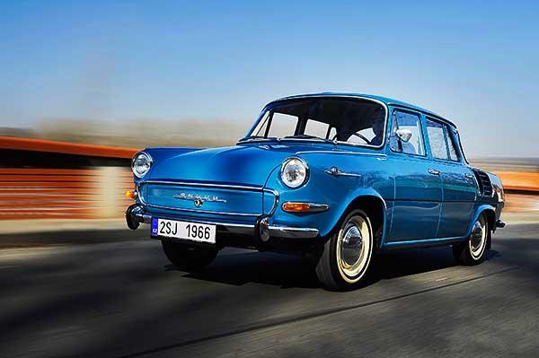 Škoda 1000 MB – ötvenöt éve született az első sorozatgyártású cseh gépkocsi