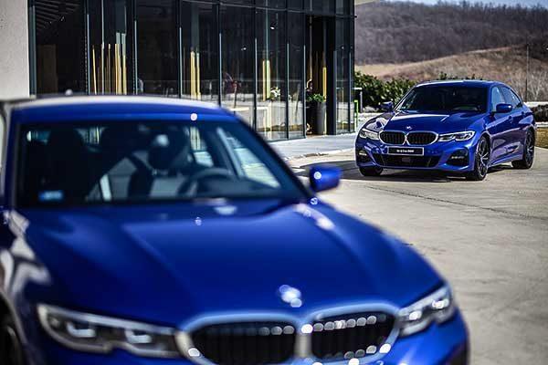 Magyarországon is bemutatkozott a korszerű BMW 3-as limuzin
