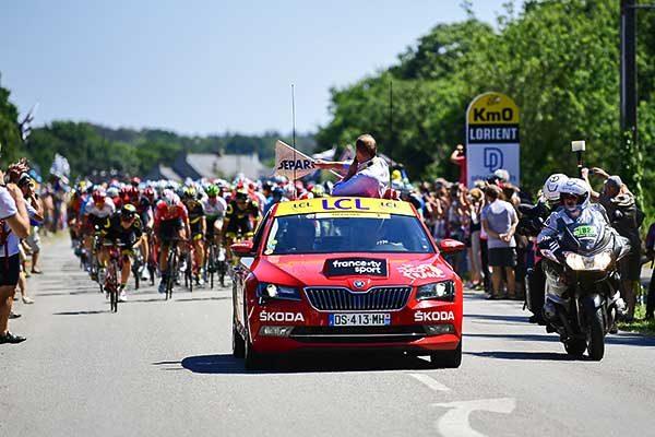 Már 16. alkalommal a Tour de France főtámogatója a Škoda