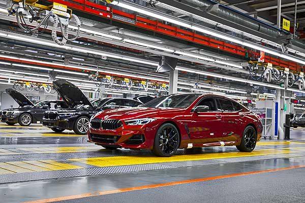 Már készülnek a legfrissebb 8-as BMW-k