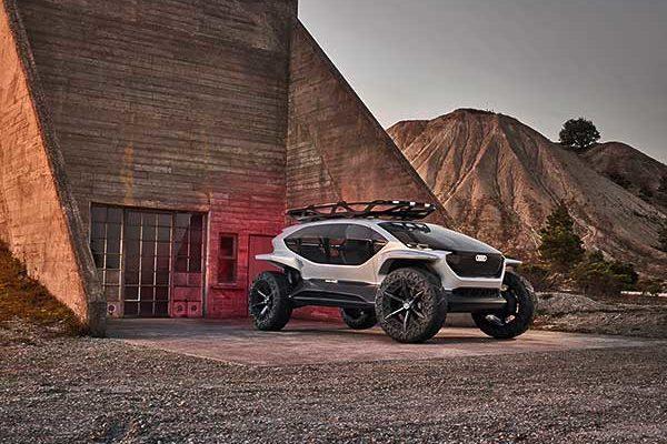 Terepjáró, amely a jövőbe visz – az Audi AI:TRAIL quattro