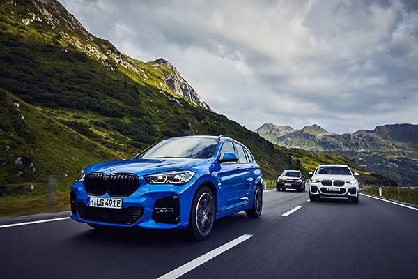 Kompakt méretű BMW terepjárók plug-in hibrid hajtáslánc-technológiával – a BMW X1 xDrive25e és a BMW X2 xDrive25e