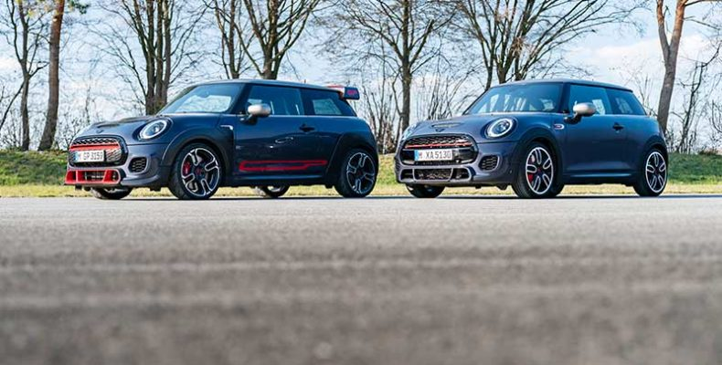 A motorsport ihlette: a MINI John Cooper Works GP Pack