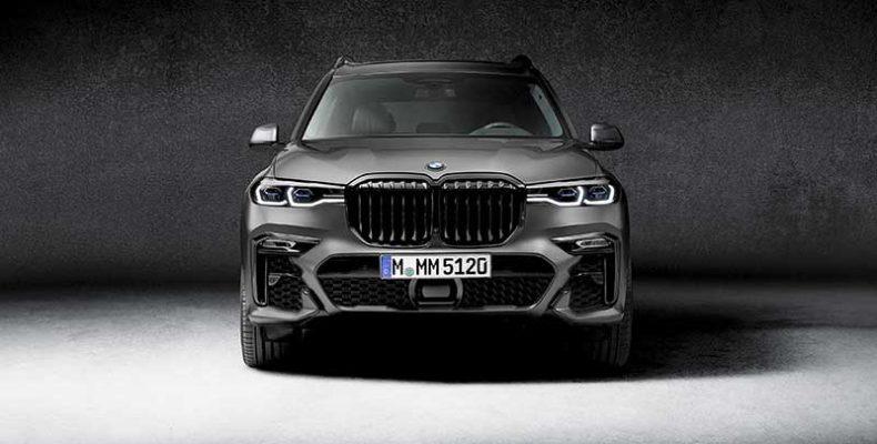Letaglózó megjelenés, exkluzív kisugárzás: a BMW X7 Dark Shadow különkiadás