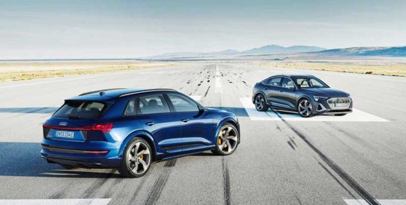 Továbbfejlesztett, dinamikus és elektromos – Az Audi e-tron S és az Audi e-tron S Sportback