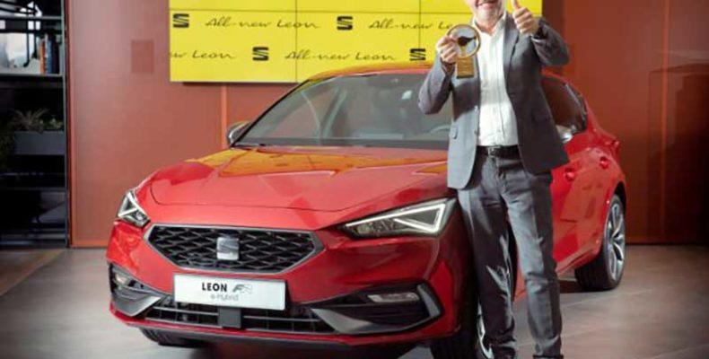 """A korszerű Seat Leon kiérdemelte az """"Arany kormánykerék"""" díjat"""