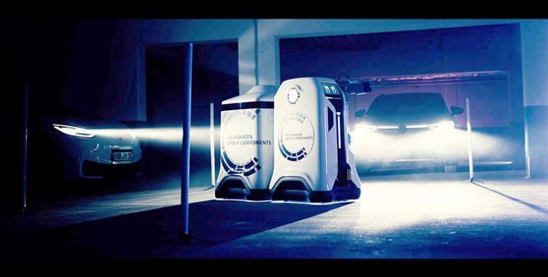 A mobil töltőrobot – egy jövőkép bemutatása