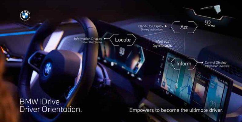 Bemutatkozik a modern BMW iDrive