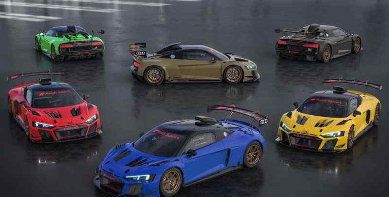 Az Audi R8 LMS GT2 egy exkluzív Color Edition kiadással jelentkezik
