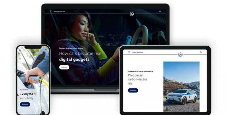 Shaping Mobility Hub: a jövő mobilitása a Volkswagen alapján